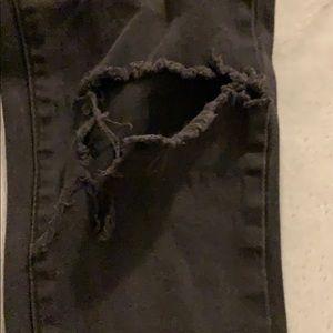 American Bazi Jeans - American Bazi distressed black jeans